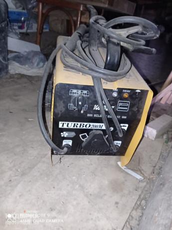 Сварочник трансформатор Kaizer turbo 200m