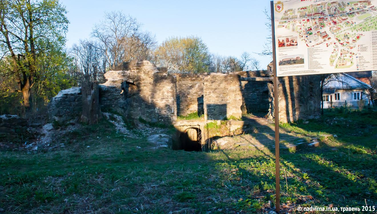 Замок Краснодвір