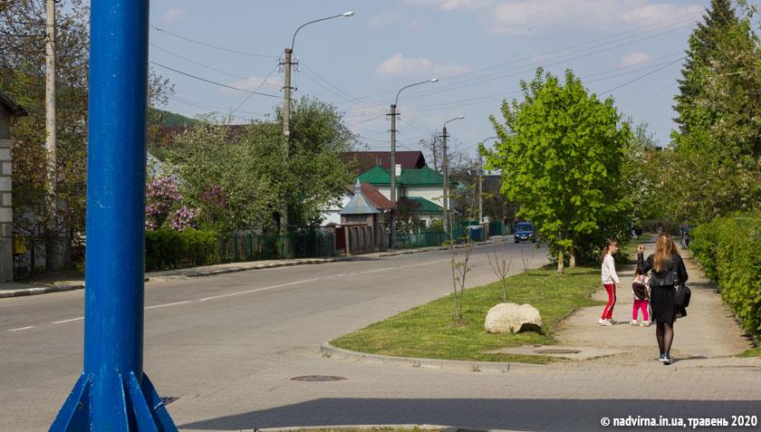 Вулиця Котляревського Надвірна