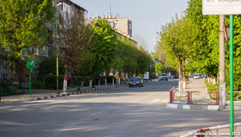 Вулиця Грущевського Надвірна