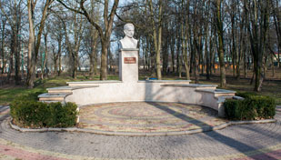 Пам'ятник Івана-Франка Надвірна