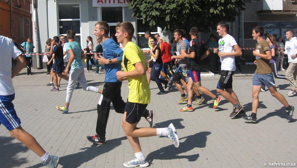 Легкоатлетичний пробіг Надвірна