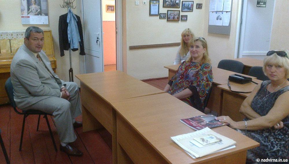 Робочий візит у Тисменичани