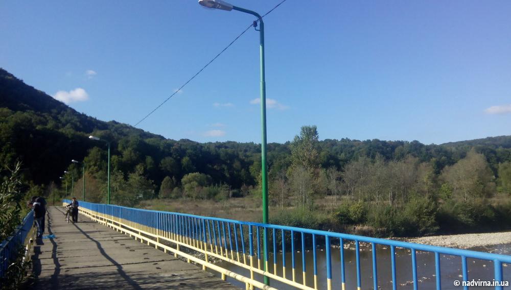 освітлення переходу через р.Бистриця