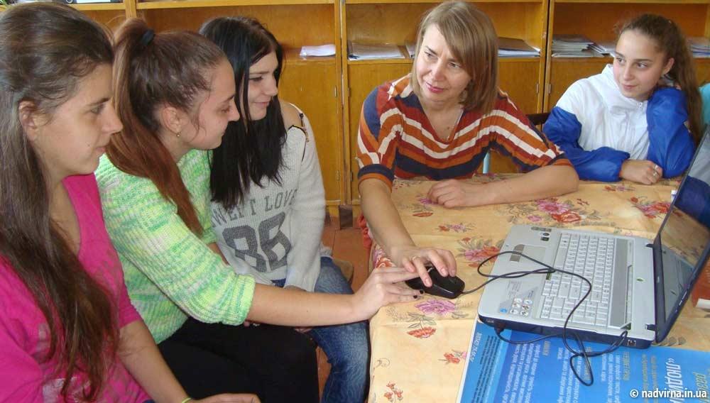Заняття для учнів Надвірнянської