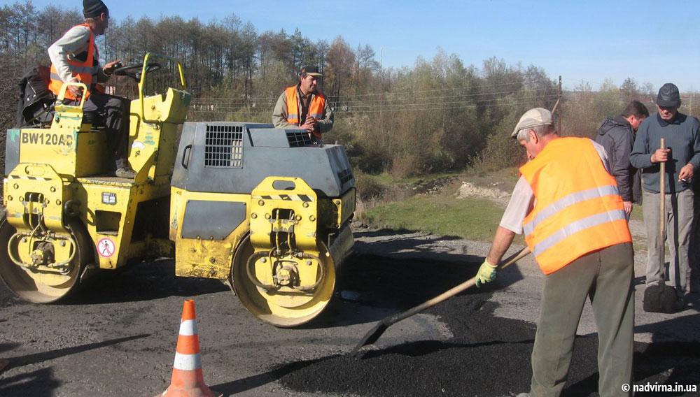 На Надвірнянщині триває ремонт доріг