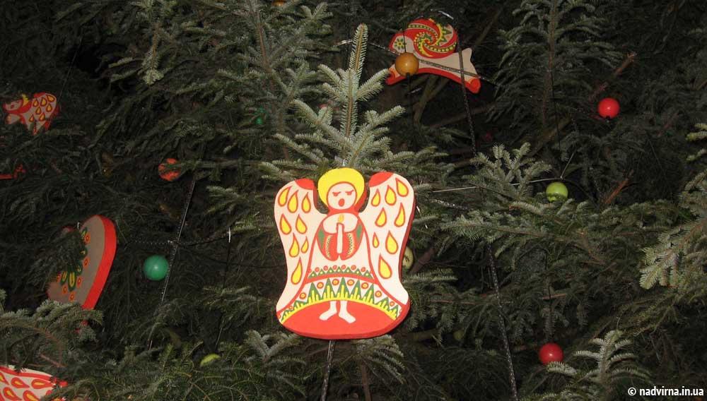 Відкриття новорічної ялинки Надвірна