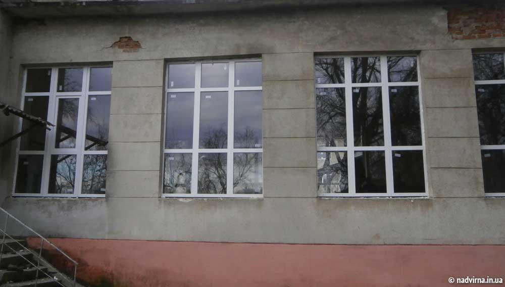 Енергозберігаючі вікна для Надвірнянської ЗОШ №2