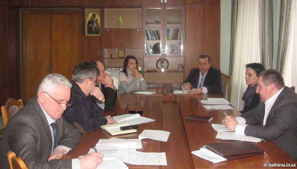 Впровадження новацій обговорили у Надвірнянській РДА