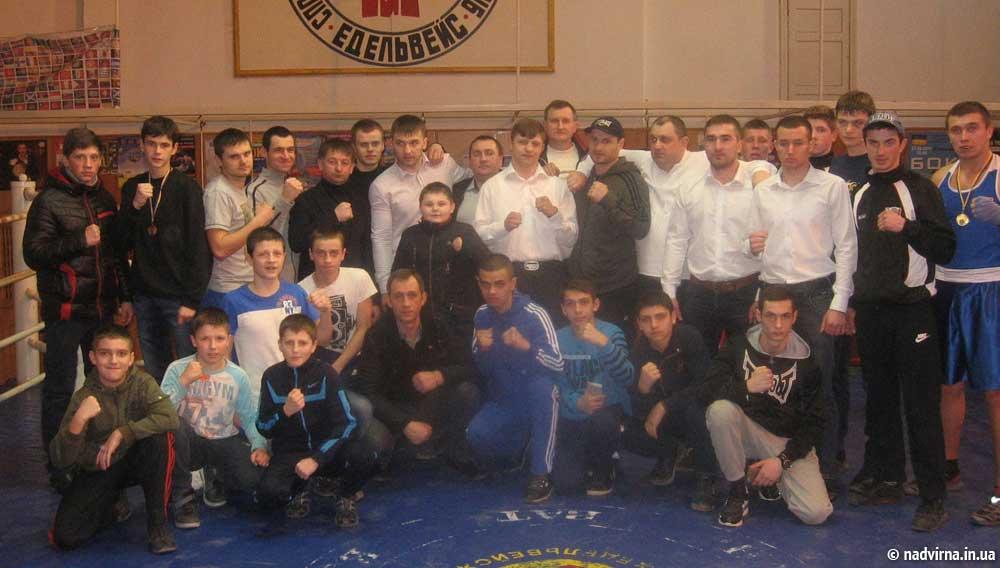 У Надвірній відбулася матчева зустріч з боксу