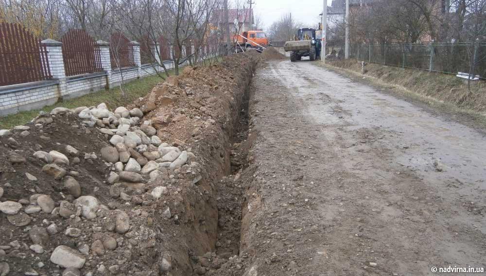 Реконструкція водопроводу по вул. Стефаника