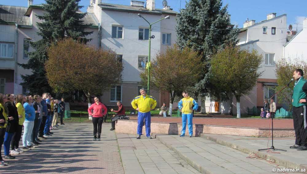 На площі Шевченка в м. Надвірна