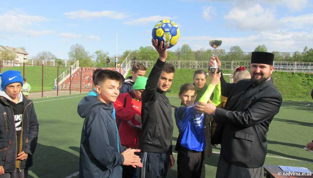 Районний турнір з дворового футболу