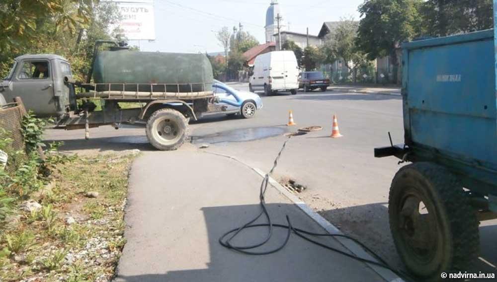 Капітальний ремонт водогону по вул. Соборна Надвірна