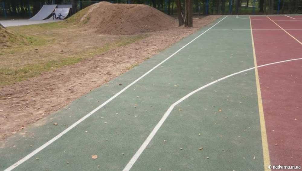 Спортивний майданчик Надвірна