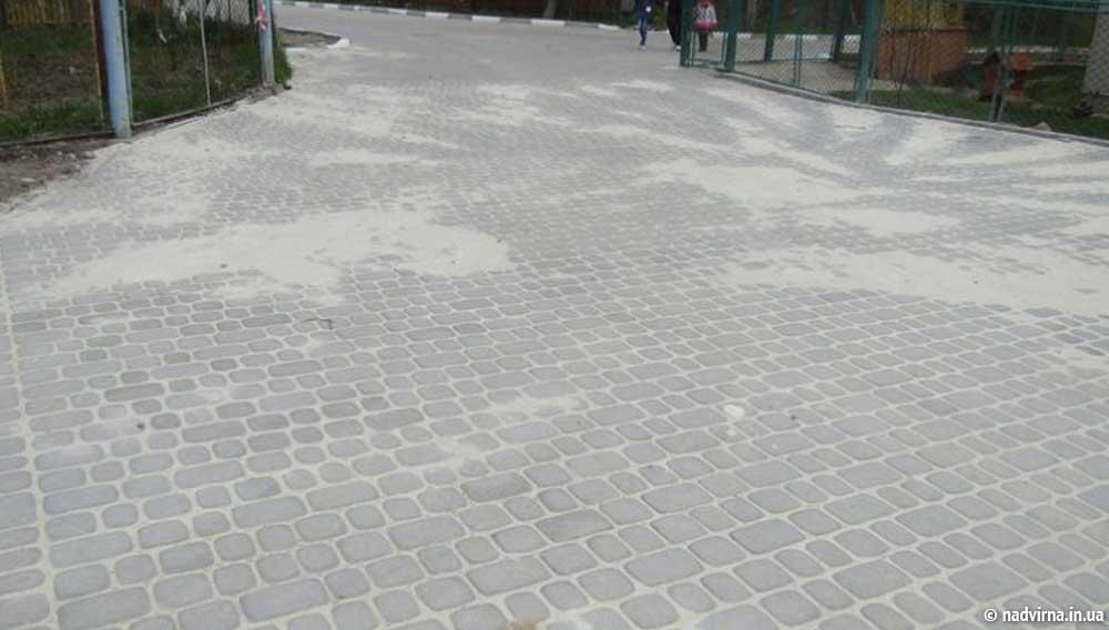 Завершено облаштування під'їзної дороги Надвірна
