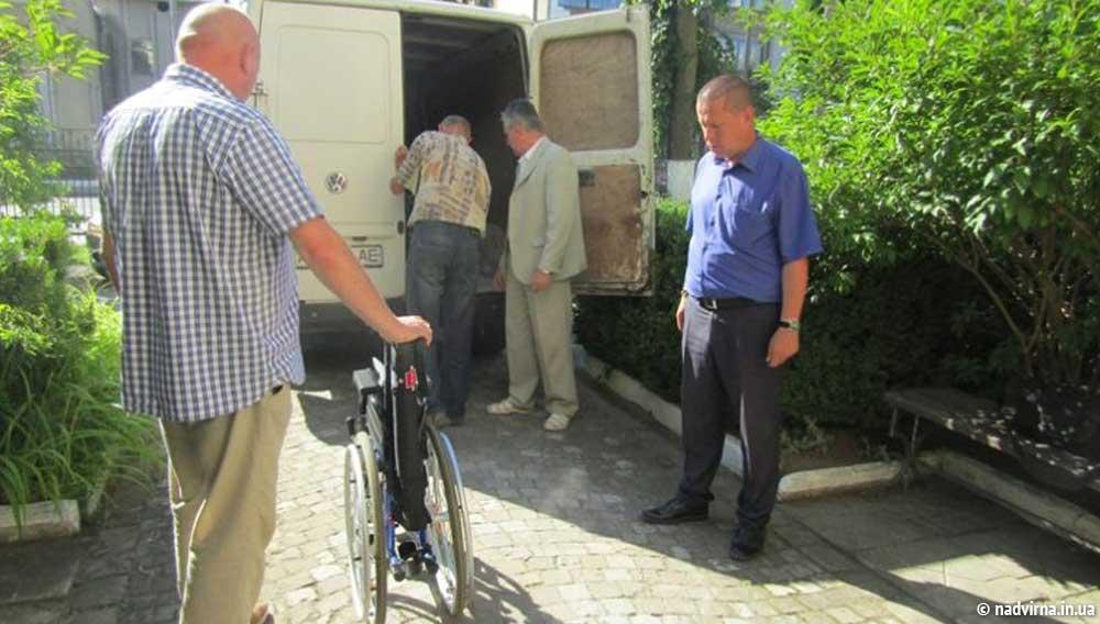 Гуманітарна допомога від німецьких благодійників