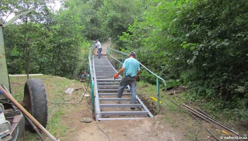 Влада капітально відремонтувала місток від парку до мікрорайону Ломоносова