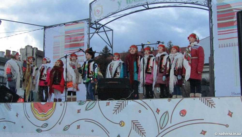 Файне Різдво у Надвірній