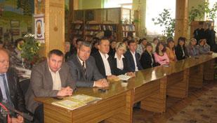 Відбулися урочисті з нагоди Всеукраїнського Дня бібліотек
