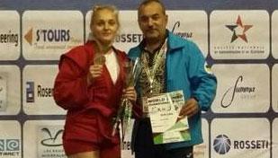Олена Сайко стала бронзовою призеркою Чемпіонату Світу