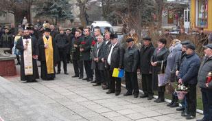 День вшанування ліквідаторів Чорнобильської АЕС на Надвірнянщині