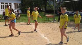 Турнір з волейболу серед молоді, приурочений дню молоді
