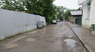 Капітальний ремонт однієї з найстаріших вулиць міста - вул.Є.Петрушевича